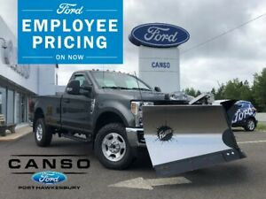 2019 Ford F-350 XLT 4WD Plow Truck: SAVE $10,105