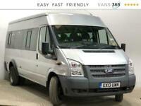 2013 Ford Transit 430 2.2TDCi 135PS XLWB 17 Seater Minibus Diesel Manual