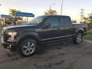 2015 Ford F150 5.0L 4x4 58,000kms super crew