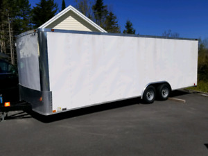 Enclosed car hauler for rent