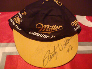 Rusty Wallace  Autographed  Hat