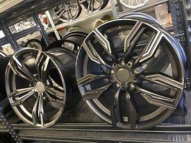18 alloy wheels Alloys Rims tyres vauxhall insignia BMW 1 2 3 series x3