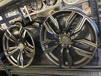 18 alloy wheels Alloys Rims tyres vauxhall insignia BMW 1 2 3 series x3