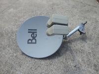 Satellite TV Dish Antenna Antenne Parabolique