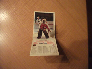 5 cartes hockey Céréale Post  1981-82 (JPG93-97)