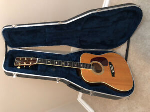 NEW PRICE$$.  MARTIN  D-40 WD Rare