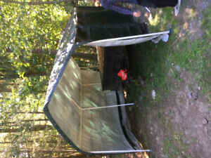 Car port cover. Stand alone, easy put up and take down. No leaks