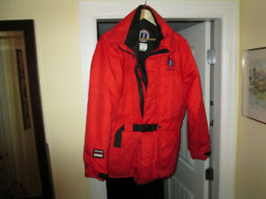 Mustang Floatation Coat $175.- near new condition
