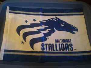 Baltimore Stallions Flag CFLers Canadian Football League CFL USA London Ontario image 1