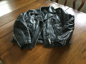 Harley Davidson motorcycle jacket ($75 and one $30
