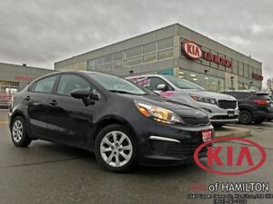 2017 Kia Rio LX+ AT | Heated Seats | One Owner