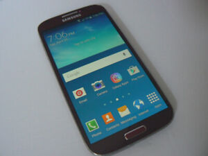 Samsung Galaxy S4 16gb  Burgundy unlocked Freedom Rogers Chatr