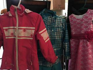 Girls bundle of clothes set - sizes 6-7