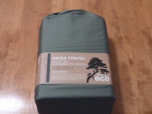 New Queen Size Aruba Tencel Blend sheets