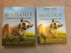 BIOLOGY/ CONCEPTS AND CONNECTIONS SEVENth EDITION + STUDY GUIDE