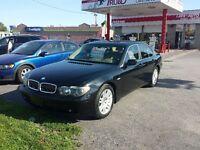 2003 BMW 745 L excellent  condition  aubaine