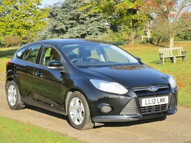 2012 Ford Focus 1.6 TDCi Diesel in Black
