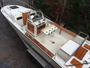 Restored Boston Whaler Outrage