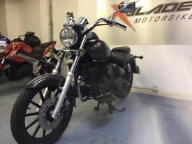 Daelim Daystar 125cc Manual Cruiser Motorcycle, 1 Owner, Low Miles, lV Good Cond