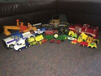 Old Pressed Steel and Other Toys