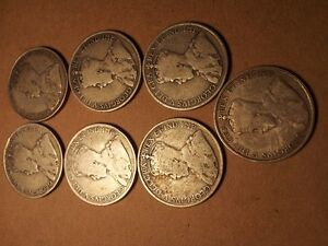 Canadian 50 Cent Coins (7) 1920 coins London Ontario image 2