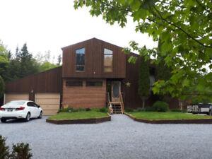Custom Built Cedar home in Rothesay,  Huge Private lot