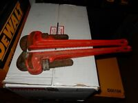 """RIDGID® Model No. 24 Straight Pipe Wrenches, 24"""", 3"""" Pipe Capaci"""