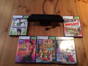 Kinect (Xbox 360) + 2 jeux