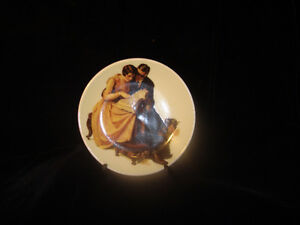 Norman Rockwell Miniature Plate