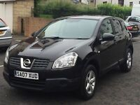 STUNNING CONDITION!!//NISSAN QASHQAI VISIA DCI//LONG MOT//£30 ROADTAX FOR YEAR//FULL SERVICE HISTORY
