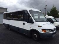 IRIS.BUS DAILY 65C15lwb 22 seater mellor conversion
