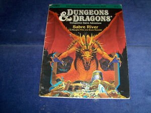 DUNGEONS & DRAGONS COMPANION GAME ADVENTURE-SABRE RIVER