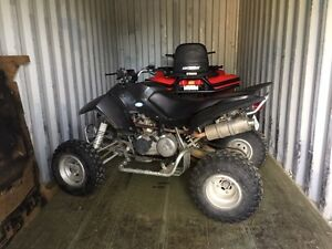 2007 drr atv for sale or trade for something sled, 4x4 atv