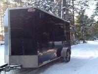 2012 6x14 Vnose enclosed trailer