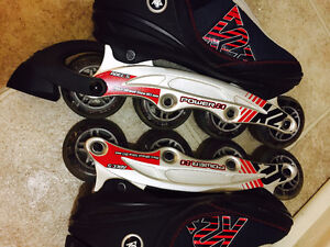 Selling - Size 8 brand new rollerblades (K2 Power 80)
