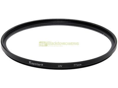 77mm. Filtro UV Reporter Slim. Ultra violet filter.