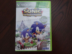 Sonic Generations XBOX 360 Game for Sale  NEW!!!!