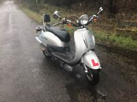 125cc Yiying Tommy Scooter low mileage for sale
