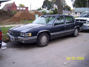 1993 CADDILLAC COUPE DEVILLE LADY OWNED AS IS