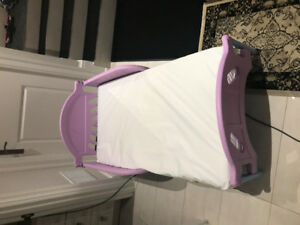 Toddler bed and mattress set