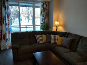 Spacious brand new 3 ½ condo for rent