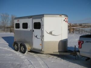 2008 Hart Medallion 2 horse trailer