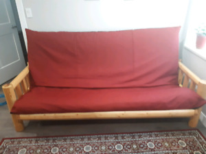 Unique Futon couch and Loveseat!