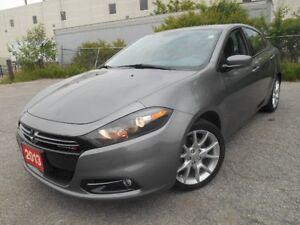 2013 Dodge Dart SXT, 1.4L, GAS SAVER, LOW KM, CLEAN CARPROOF,...