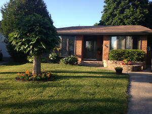 Detached house for lease, available July 1st