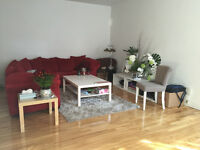 Large renovated 2br Apt. close to dowtown/ possib. all furnished