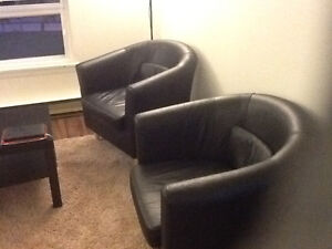 Leather Tub Chair