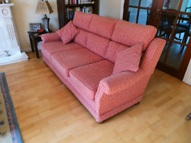 Three Seater sofa and two chairs