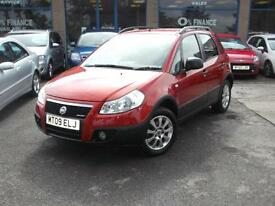 09 FIAT SEDICI 4X4 1.9 DIESEL DYNAMIC 5DR 5YEARS 0% FINANCE NO DEPOSIT