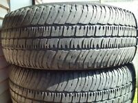 4 PNEU ETE - MICHELIN 265.70.17 - SUMMER TIRE